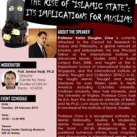 "The Rise of ""Islamic State"": Its Implications for Muslims"